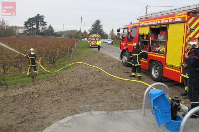 Les trois réserves ont été testées avec succès mercredi par les sapeurs-pompiers.