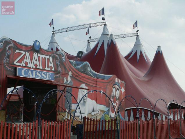 cholet, cirque, zavatta, annule, premiere, representation