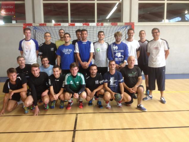 maze le handball club d authion reprend les entrainements