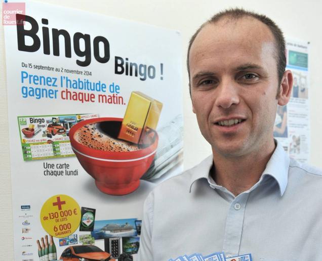 le courrier de l ouest des lingots dor avec notre jeu bingo bingo