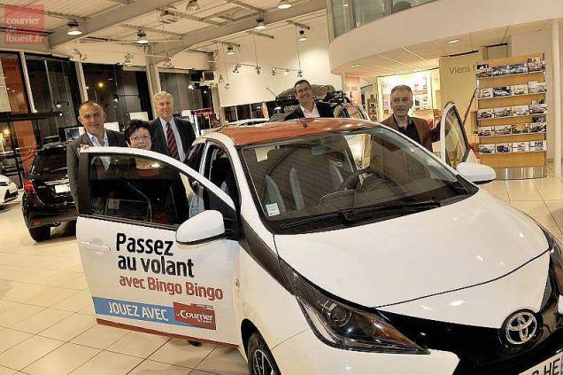 Cholet. La Toyota du Bingo-Bingo remise à ses propriétaires
