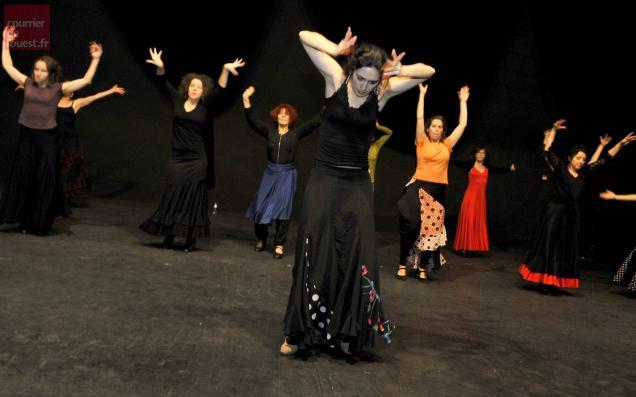 le may surevre le flamenco a l 39 espace senghor
