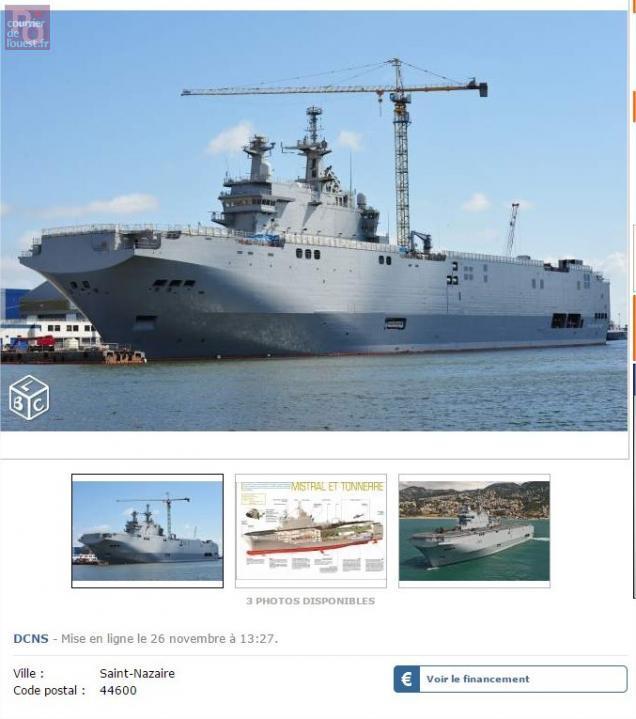 grand ouest les navires de guerre vladivostok et sebastopol sur le bon coin