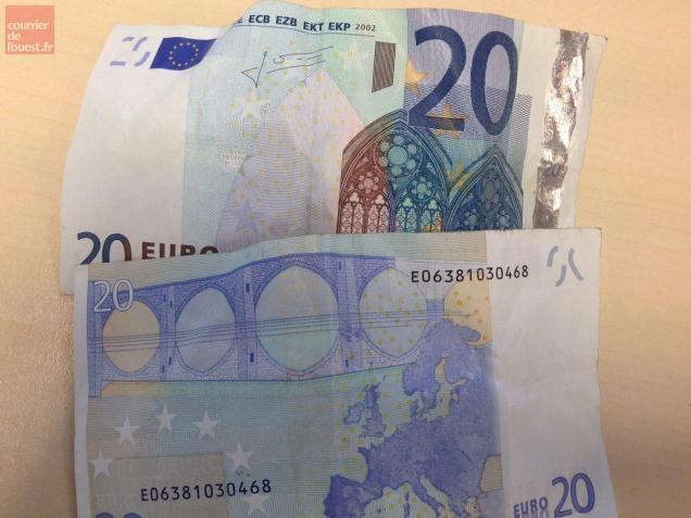 niort attention de faux billets de 20 euros circulent en ville courrier de l 39 ouest. Black Bedroom Furniture Sets. Home Design Ideas