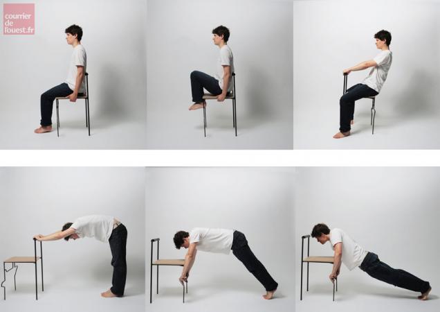 Doué. Une séance de gymnastique sur chaise lundi