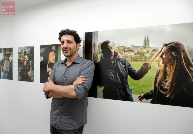 niort. les jeunes dans l'objectif du photographe vincent rosenblatt
