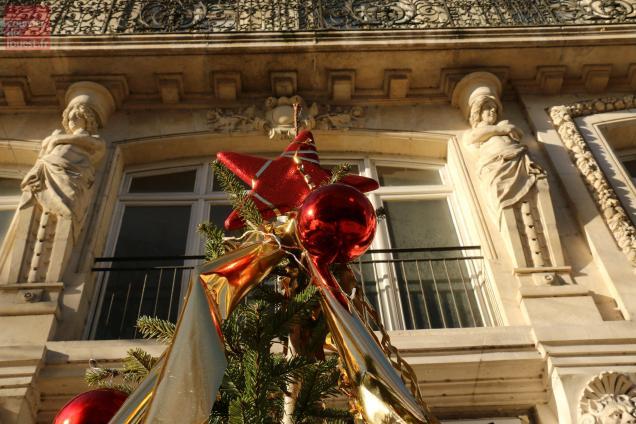 Saumur, rue Franklin-Roosevelt, vendredi 4 décembre 2015.