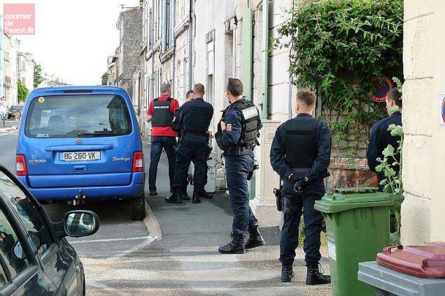 La gendarmerie a déployé un important dispositif.