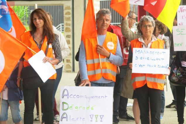 Bressuire. ADAPEI 79 : dialogue difficile entre l'Intersyndicale et la direction