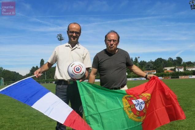 Johnny Brosseau et Fredo de Sousa ont parlé du football qui réunit les communautés françaises et portugaises.