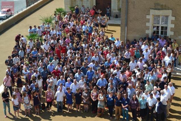 350 chefs d'établissement et personnels du privé faisaient leur rentrée.