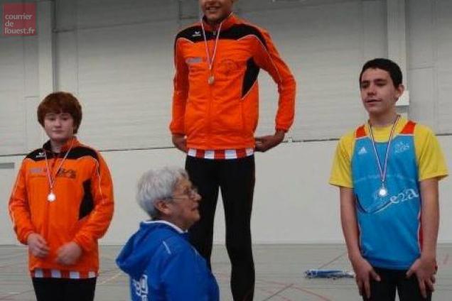 Présidente du comité d'athlétisme 49, Michèle Jan remettra les récompenses.