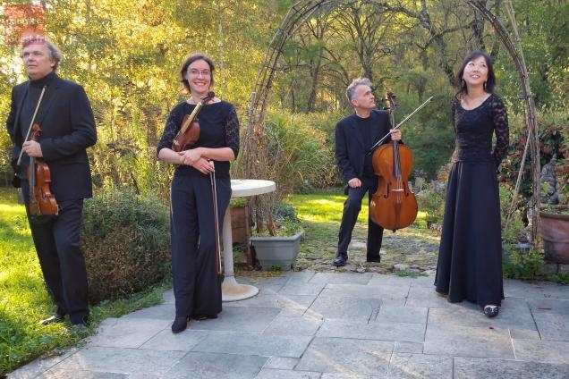 L'ensemble Pugnani en concert au domaine de Bré, à Seiches-sur-le-Loir.