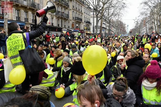 33a19a6f906 Les gilets jaunes appellent à manifester à Paris et à Bourges samedi