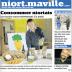 Le deuxième numéro de Niort Maville paru le 3 avril.