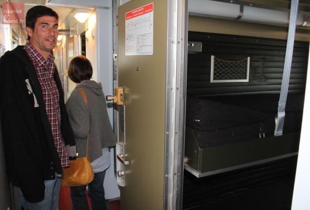 Le concept d'hébergement dans un wagon-lits devrait plaire aux touristes.