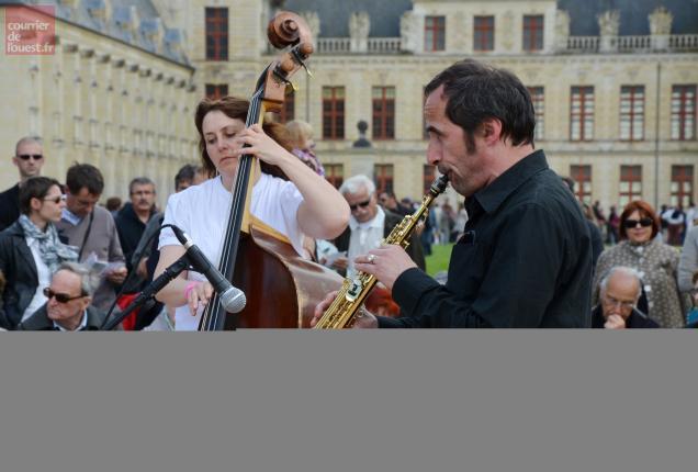 Musique jazz en plein air...