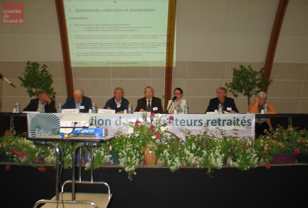 Les explications de la Chambre d'agriculture sur le thème de la transmission.