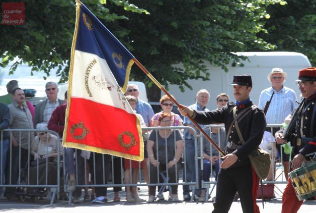 L'infanterie française à la rescousse