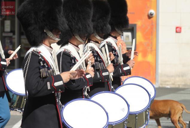 Musique militaire de la garde Royale du Danemark