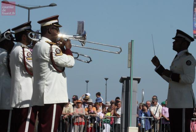 Étincelante Musique militaire officielle du Qatar