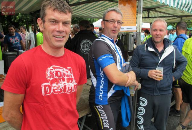 Entre deux courses, le cycliste professionnel Franck Bouyer a roulé sur 48km.