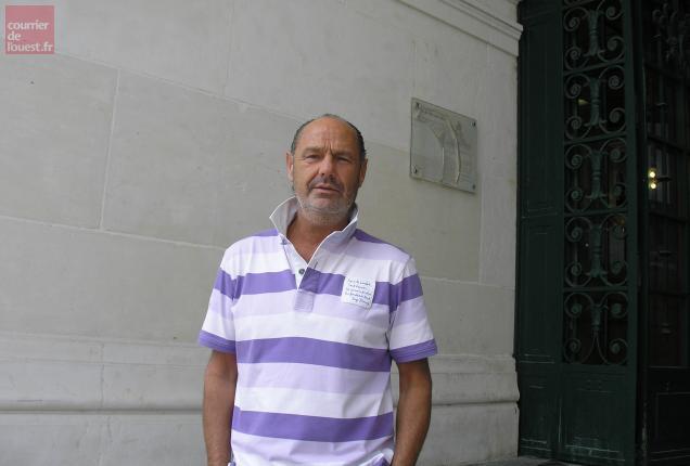 Olivier Moron, président du commerce non sédentaire des Deux-Sèvres, un des artisans de la braderie.