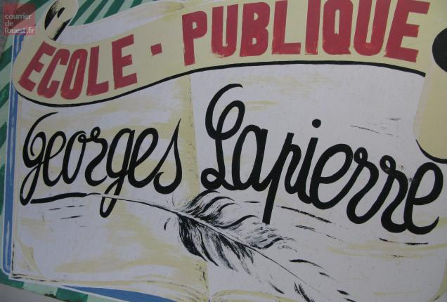 L'école Georges-Lapierre ressuscitée.