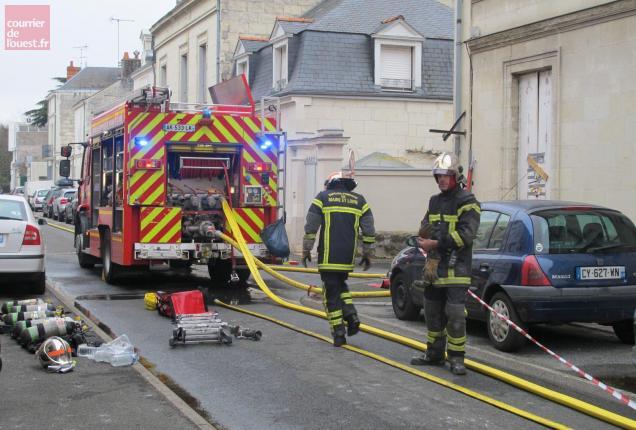 22 sapeurs-pompiers sont intervenus sur place