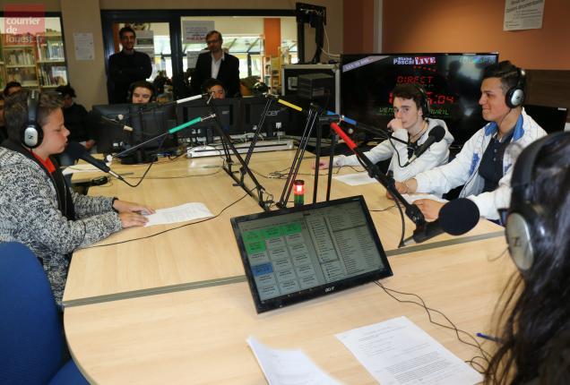 Segré-en-Anjou-Bleu. Radio Blaise-Pascal sur 106.5 FM du 2 au 5mai