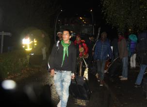 Doué-la-Fontaine. 39 migrants sont arrivés ce lundi soir au centre Afpa